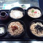 しのぶ庵 - 味比べ大盛り1150円