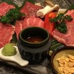 仙台牛焼肉 バリバリ - 贅沢~な和牛盛り♪