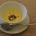 シュバリー - かぼちゃの冷製スープ