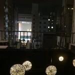 ダイヤモンドフィッシュ - 部屋から見える風景