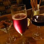 マーブル - キールロワイヤル、赤ワイン、イチジク入りのチョコレート