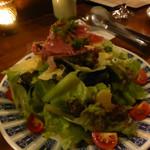 マーブル - 生ハムのサラダ