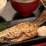 めしや 太治兵衛 - 赤魚粕漬け定食