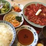 美福苑 - 焼肉ランチ1.5倍