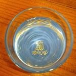 カフェ 4ユー ~カゼ-ノ-オカ~ - お冷やのグラスもオリジナルで可愛い❤(ノ≧▽≦)ノ