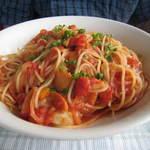 コバズ - ランチのスパゲティー