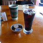 イタリアンレストランバーココロ - アイスコーヒー