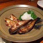 松吟庵 - ハタハタ醤油焼き