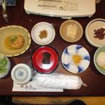 41100675 - がんも ごま豆腐 温泉たまご