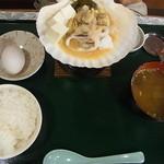 駅前食堂 - ホタテ貝焼き