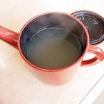 いずみ - 蕎麦湯