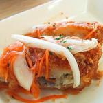 ヴォーノ・イタリア - 白身魚のエスカベッシュ