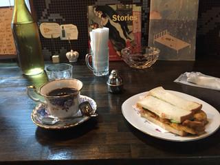 ホープ洋装店 - ブレンドコーヒー &  玉子サンド