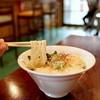 黄昏タンデム - 料理写真:潮騒の鶏塩そば (750円) '15 7月中旬