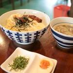 黄昏タンデム - 魚群つけ麺 (800円) '15 7月中旬