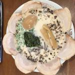十四代目 哲麺 - 塩チャーシュー メンマ