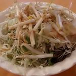 41106923 - Mumbai Kitchen Indian Restaurant @西葛西 カレーセットに付く胡麻ドレが掛けられたサラダ