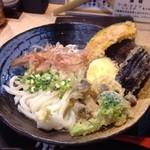 41107363 - 野菜天ぶっかけ!