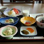 ホテル奥田屋 - ボリューム満点朝食(;´д`)