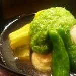 平野 - 夏野菜の炊き合わせ