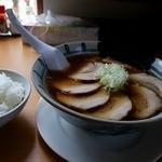 らぁ麺屋まるみ - 撮影ミス_醤油チャーシュー