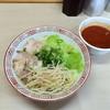 洋RUN - 料理写真:冷やしつけ麺  辛さ×5〜(*^◯^*)