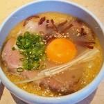 7福神 - 7福神@森町(静岡) つけ麺・塩・中のつけ汁