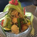 東京ベジスタイル - 何サラダか忘れちゃたけれど、たっぷり満足度大♡