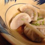 楽天食堂 - 魚露水餃子