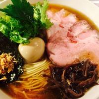 龍馬軒 - 塩煮干中華麺