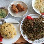 歩味 - ミニ焼飯セット定食 ➕ 唐揚げ=2個