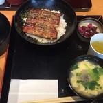 41115577 - 鰻丼&スッポンスープ♬