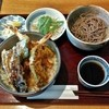 手打そば きっ川 - 料理写真:天丼(1100円)