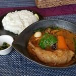 41118081 - チキンto野菜カレー(1130円⇒1030円)です。