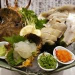 41118833 - ぞうり海老、岩牡蠣(2014.5)