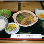 すき焼き・割烹 かとう - すき焼膳ランチ 1080円
