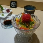 寿司の次郎長 - セット2 サラダ
