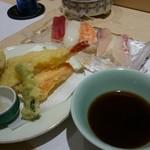 寿司の次郎長 - セット3 天ぷら&にぎり