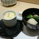 寿司の次郎長 - セット4 茶碗蒸&椀