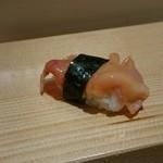 寿司の次郎長 - 追加で赤貝