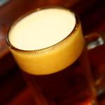 晩杯屋 - 410円『生ビール(中)(サッポロ黒ラベル)』2015年8月吉日