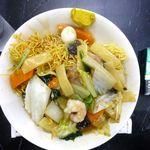 中国料理 登龍 - 五目かた焼きそば大盛830円