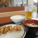 41123640 - 餃子定食 430円(2015年8月)