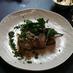 INSPA - ランチのメイン料理