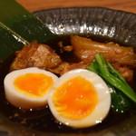 かば屋 - 鹿児島豚軟骨煮¥580