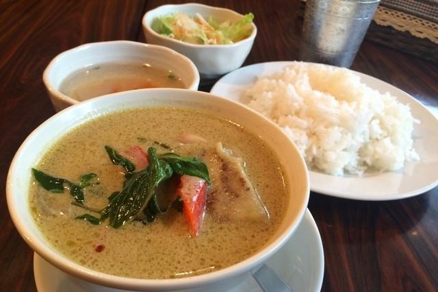 タイ料理 ブアールアン - ランチセットグリーンカレー