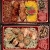 日本一 - 料理写真:上が、カラフル焼き鳥弁当 税込529円。下が塩焼き鳥弁当 税込529円。