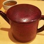 三合菴 - 蕎麦湯