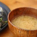 ANDANTE - ベジ定食(みそ汁)
