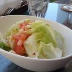 シーサイドテラス - カルボナーラ(\1,100)サラダ